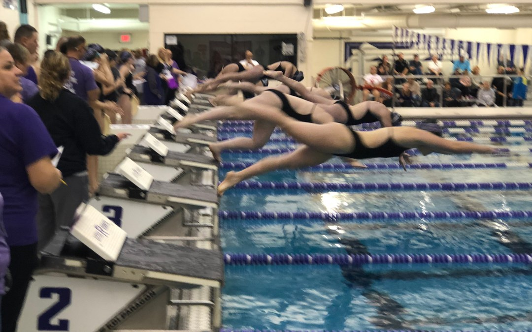 Lady Giants swimming stays undefeated; boys lose their 1st of the season
