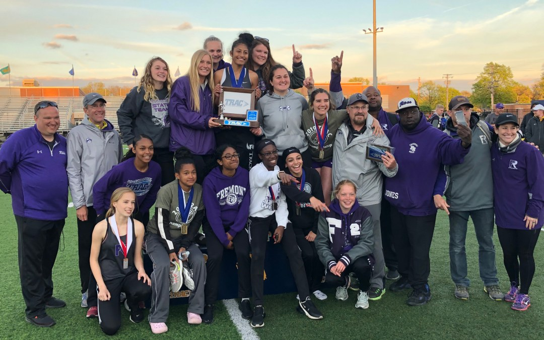 CHAMPS! Lady Giants claim track and field TRAC championship