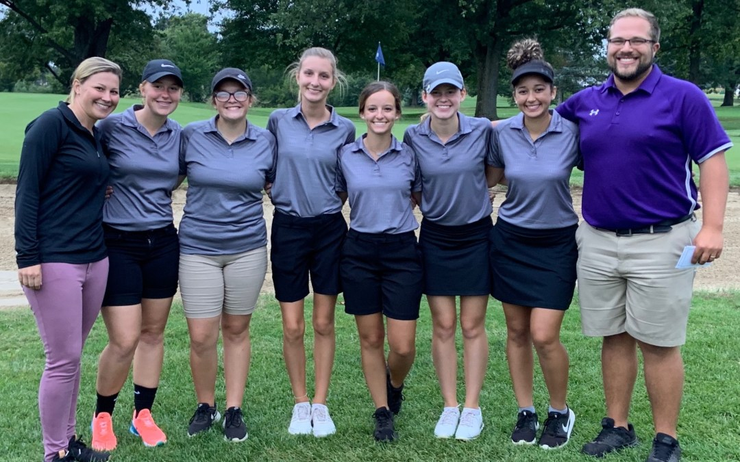 Senior golfers recognized on Senior Night