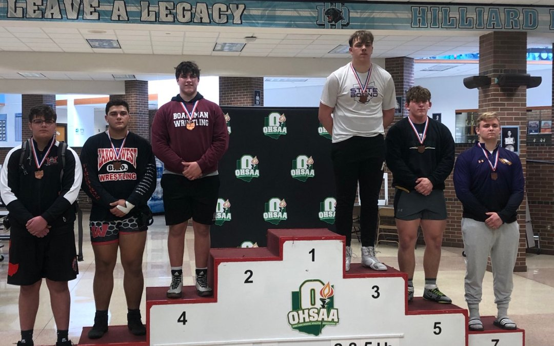 Ethan Green Finishes 3rd at State Tournament