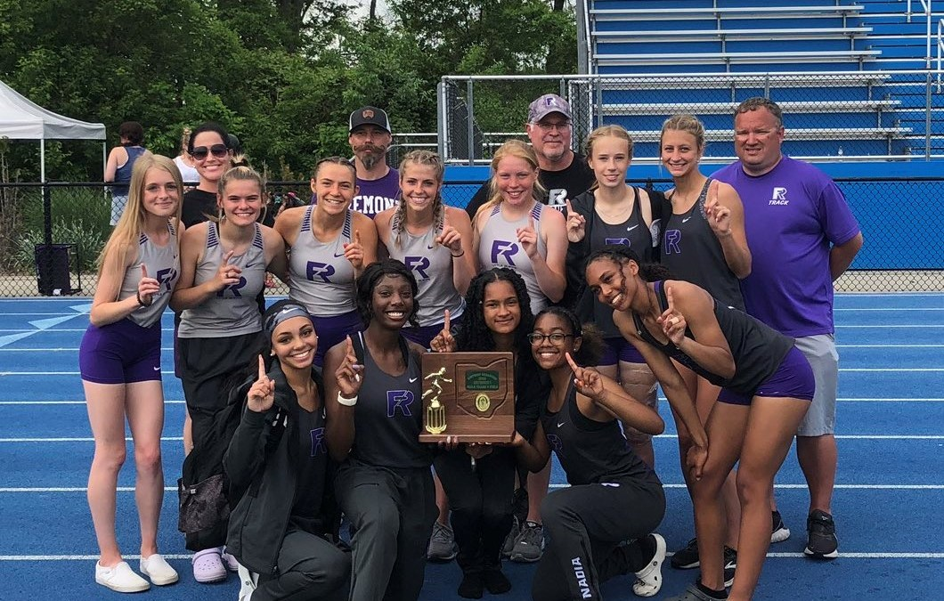 Girls Track and Field Capture District Title
