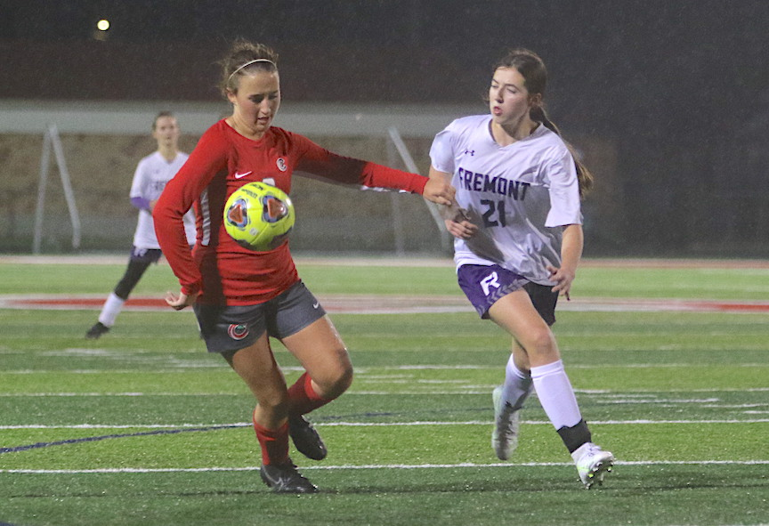 Little Giants Get Rained On With Goals