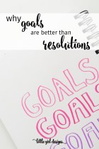 How to Make Goals Instead of Resolutions