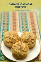 Gluten-Free Banana Oatmeal Muffins