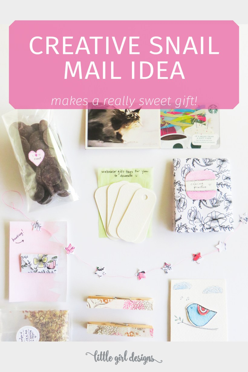 Who doesn't love receiving letters and packages in the mail? Pocket letters are such a creative idea for snail mail and are great for pen pals.The best part is you can easily fold them into an envelope. Get inspiration for your own DIY snail mail gift when you click through!