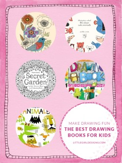 Make Drawing Fun! My favorite drawing books for kids (and adults) @littlegirldesigns.com