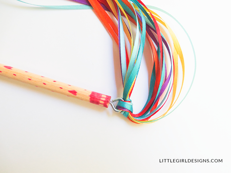 How to make a ribbon wand jennie moraitis for Ribbon wands