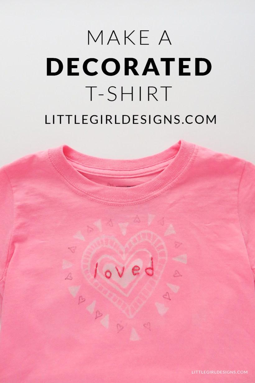 make a decorated t shirt jennie moraitis