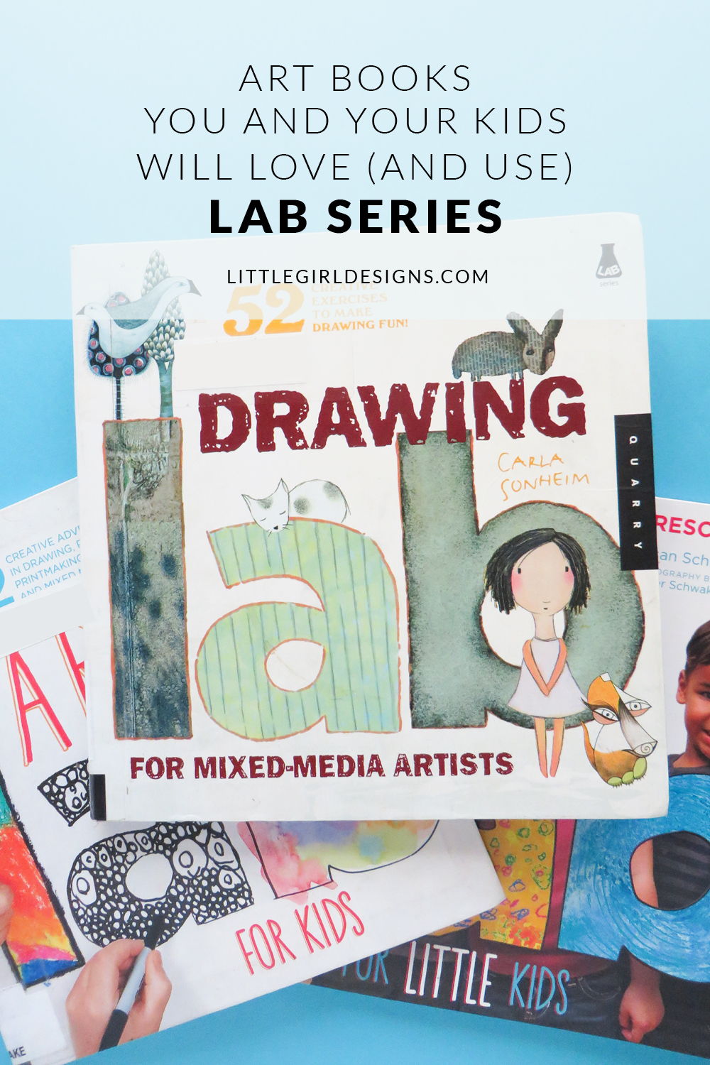 Art Books You And Your Kids Will Love Lab Series Jennie Moraitis