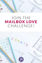 Introducing the 30 Day Mailbox Love Challenge!
