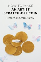 How to Make Artist Scratch Off Coins