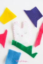 How to Make a Felt Bunny