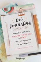 How to Start a Dot Journal
