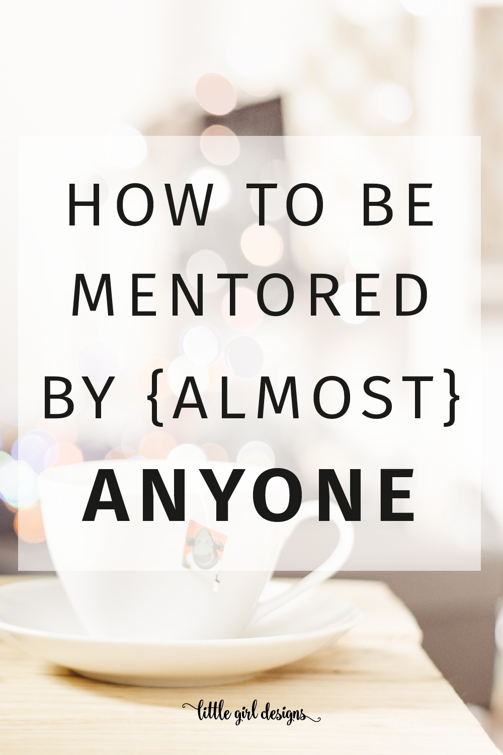 Mentoring is a great way to grow personally and professionally, but what if you don't know anyone who can mentor you? No worries, you can still be mentored by some of the top leaders in the world. Seriously. This is how I do it. :) (P.S. This is a really awesome idea for introverts!)