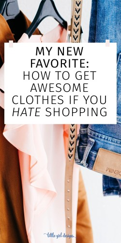 Oh my goodness, this makes me so happy. I'm not a fan of clothes shopping and sometimes wish someone else would do it for me. This is the solution I found and it really works!