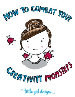 Stop those creativity monsters and gremlins in their tracks with these three tips. Yay! Now you can get back to creating!