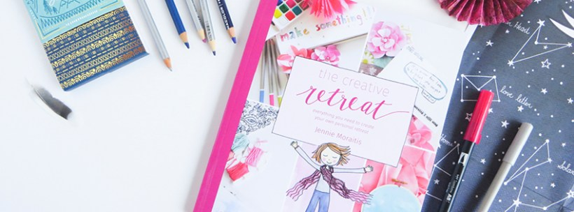 Use The Creative Retreat book and fill it with your drawings and musings!