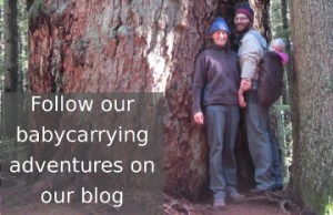 Follow our babycarrying adventures on our blog