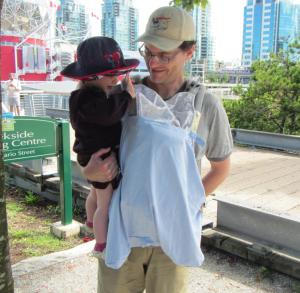 Outing with sun baby carrier cover