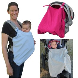 Little Goat Sun Cover baby carrier car seat canopy stroller