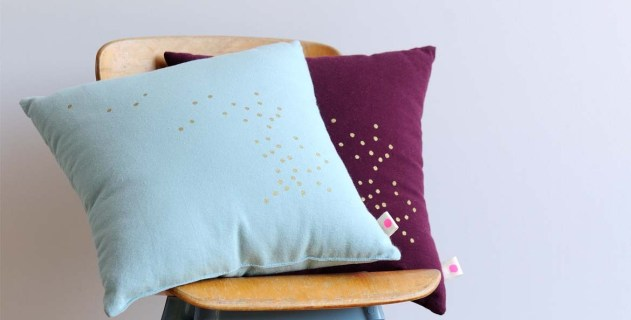 www.littlegreenbee.be coussin-marsala-a-pois-dores