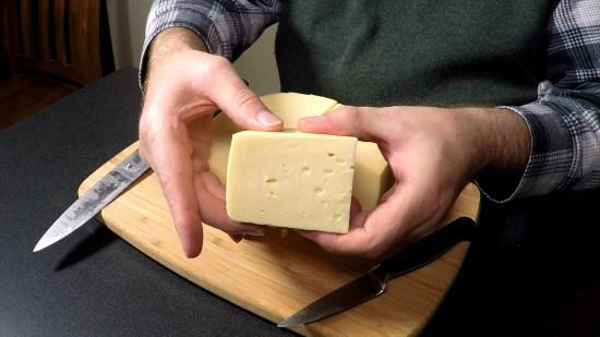How to make Gouda - Taste Test