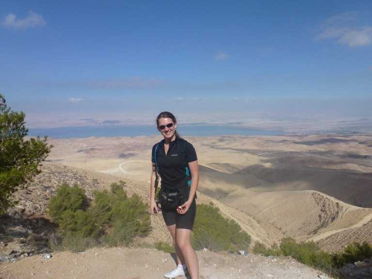 Joss charity cycle across Jordan