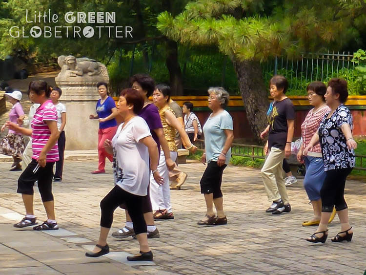 Dancing-in-parks-China