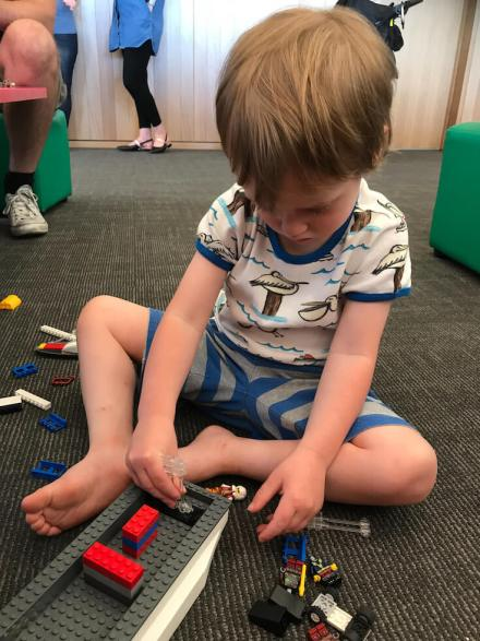 Our home education plan for engineering and design includes creative, open ended play with toys such as Lego.