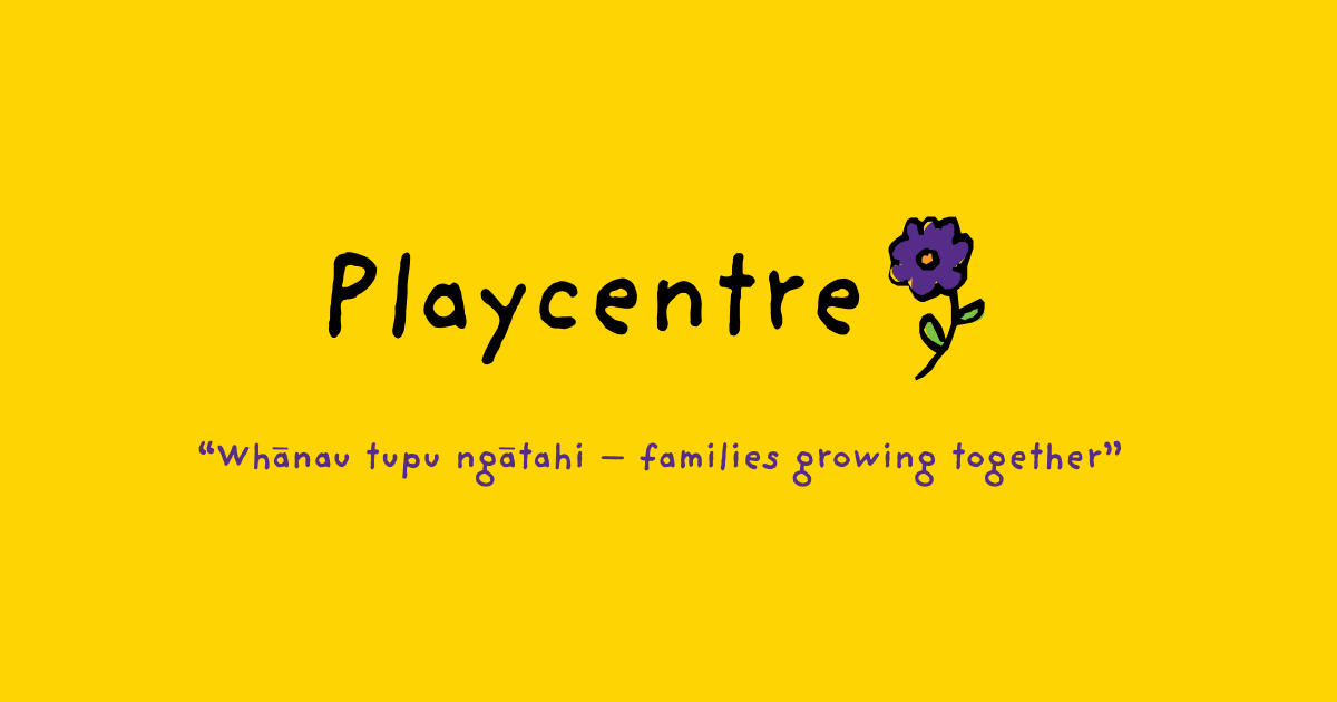 Playcentre logo. Attending Playcentre is an important part of our homeschool plan in New Zealand.