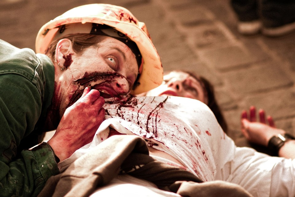 The Irony Of Flesh-Eating Zombies