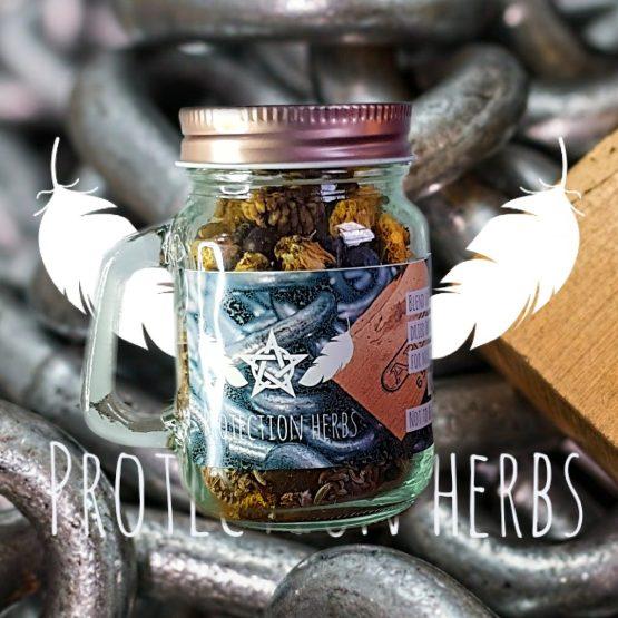 protection magic herbs