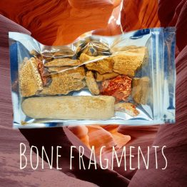 witchcraft bone fragments