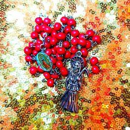 santa muerte rosary