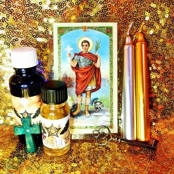 saint expedite prayer kit
