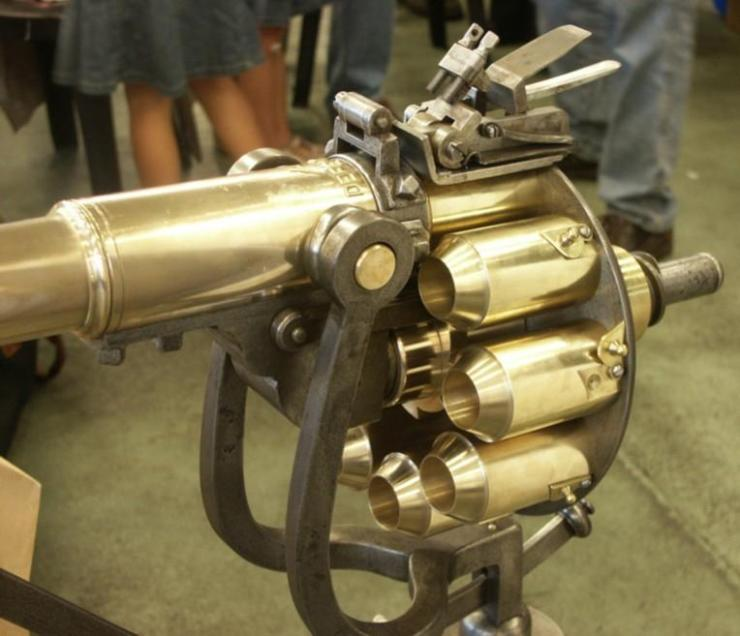 Puckle gun Image credit littlegun.be