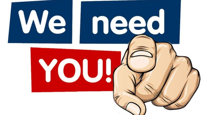 Fund Raising Manager (voluntary) WANTED