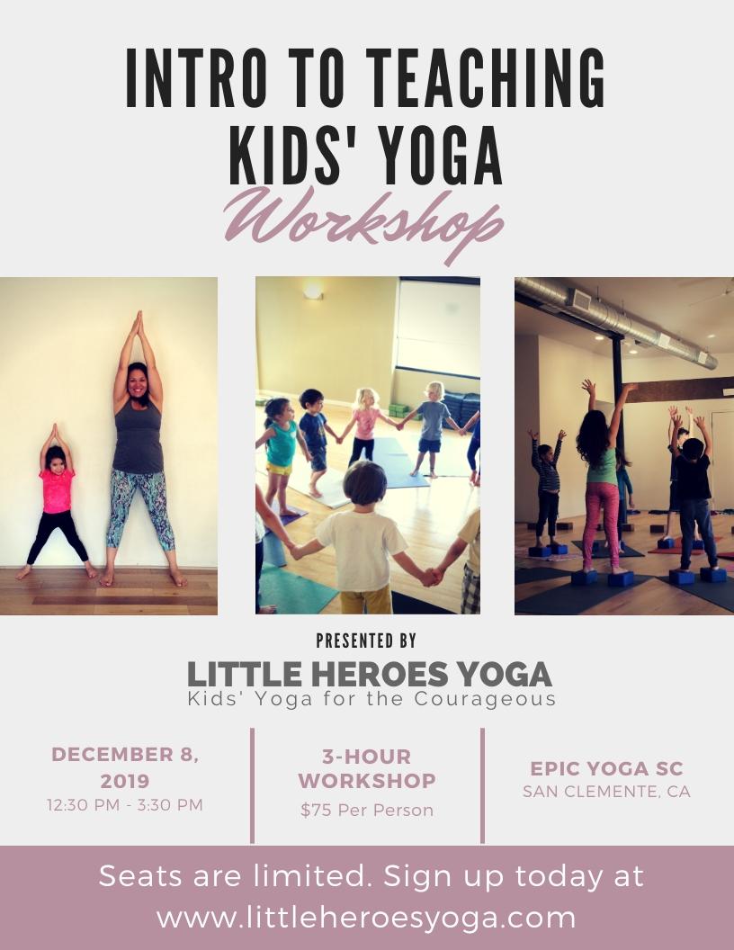 Public Classes And Workshops Little Heroes Yoga