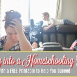 Getting into a Homeschooling Routine
