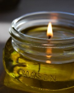 Monday Mini Project: Olive Oil Candles