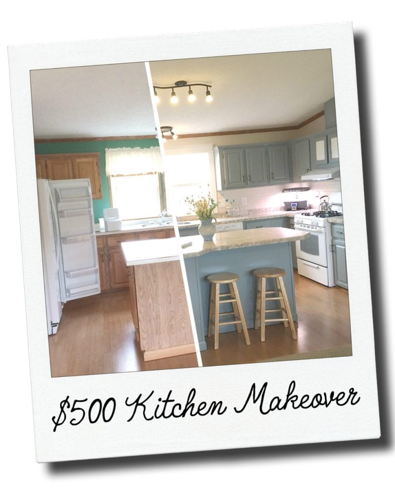 Complete Frugal Kitchen Makeover For Less Than 500