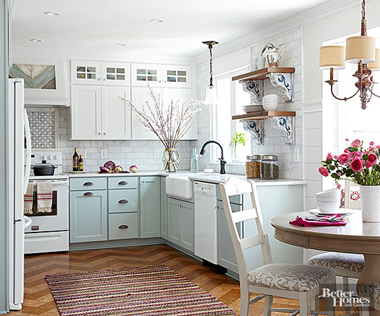 White kitchens with white appliances White Samsung Baby Blue Kitchen Cabinets White Appliance And Fun Wood Floors Little House Of Could White Appliances As Design Feature In The Kitchen Little House