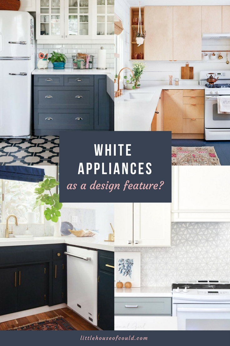 Pin It: White Appliances As An Intentional Design Feature In A Modern  Kitchen