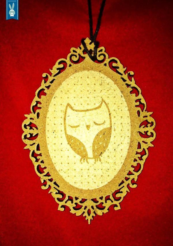 Owl pendant2