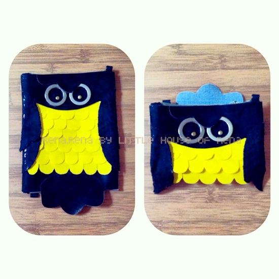 LHoR - DIY Owl Clutch