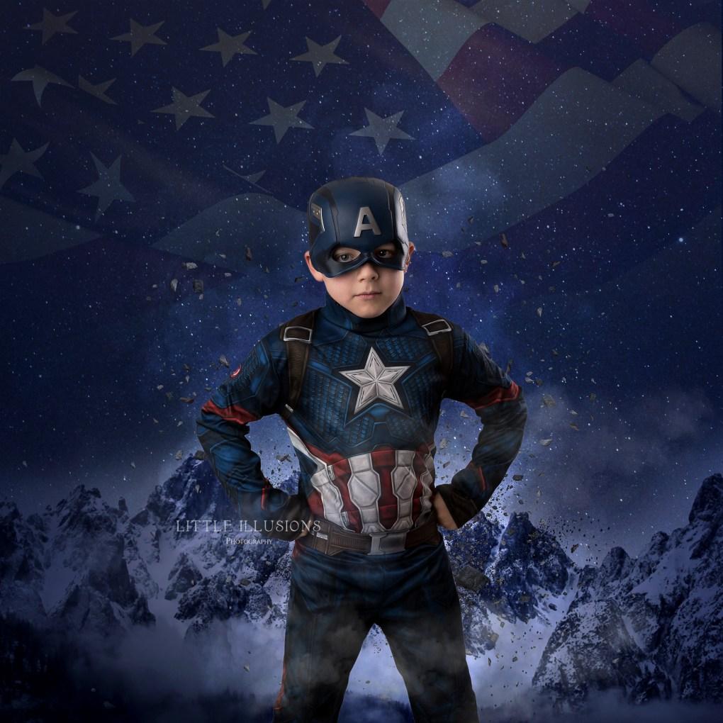 creative superhero portraits brisbane