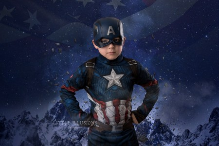 creative superhero kids portraits brisbane