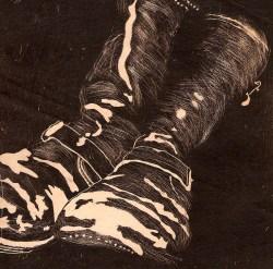 Cooper's Boots - Relief Print