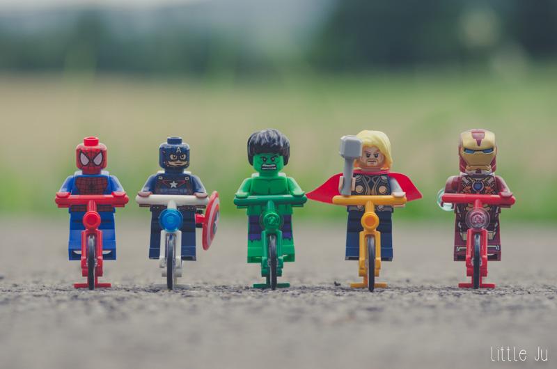 Les Avengers sur le départ