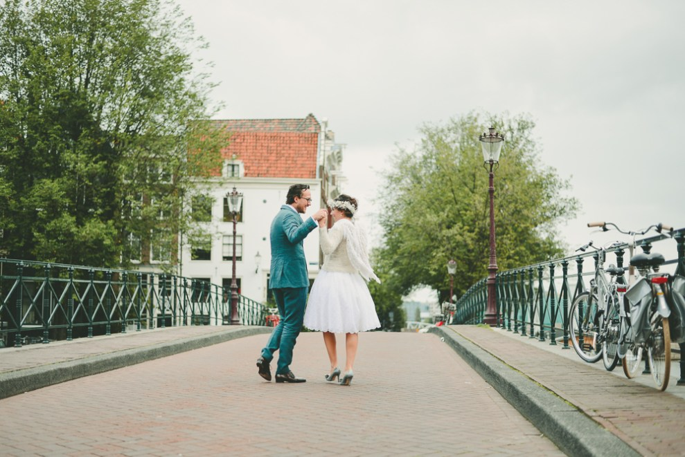Wedding Amsterdam Canals Bruiloft